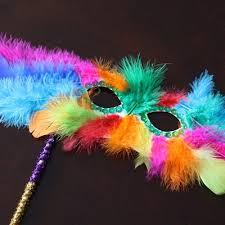 mardi gras feather masks mardi gras feather mask family crafts