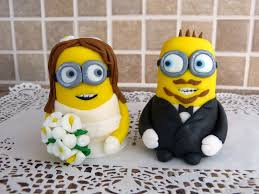 minion wedding cake topper wedding cake toppers minions gallery minion wedding cake topper