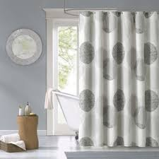 Vinyl Window Curtains For Shower Modern Shower Curtains Allmodern