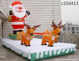 Christmas Garden Decorations For Sale by Big Inflatable Christmas Decorations Festival Series Outdoor