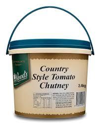 country style tomato chutney 2 4kg wood u0027s premium condiments