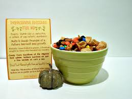 thanksgiving food blessings trail mix thanksgiving holidays