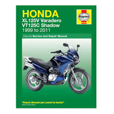 haynes workshop manual guide book for honda xl125 varadero
