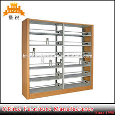 double side library book display shelf wholesale