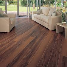 wide wood planks installed in ship deck style with design strips