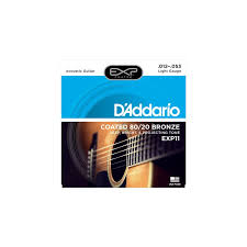 Light Guitar Strings by D U0027addario Acoustic Guitar Strings 80 20 Bronze 012 053 Light