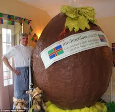 easter eggs for sale real willy wonka takes three days to create 7ft