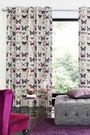 Plum Flower Curtains Purple Curtains U0026 Blinds Ready Made Purple Curtains Next Uk