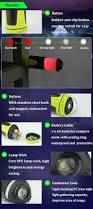 retractable kitchen light portable retractable camping light outdoor emergency tent lantern