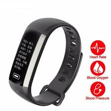 blood pressure bracelet images Smart fitness bracelet band watch display blood pressure heart jpg