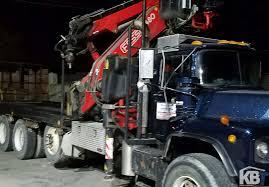 mack truck dealers fassi f480a 24 w l414 jib on mack truck knuckleboom trader