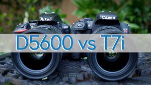 hands on review canon t7i 800d vs nikon d5600 photorec