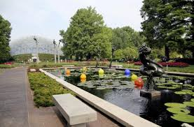 Missouri Botanical Gardens The Outstanding Water Pools Picture Of Missouri Botanical