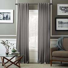 beautiful grey curtains for living room and purple and grey