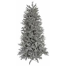 6ft snowy spruce artificial tree at homebase co uk