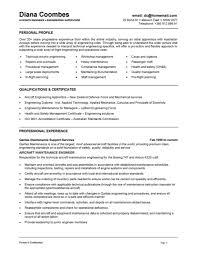 Diesel Technician Resume Cover Letter Sample Resume For Building Maintenance Worker Sample