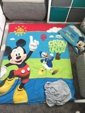 Mickey Mouse Toddler Duvet Set Mickey Mouse Toddler Bed Ebay