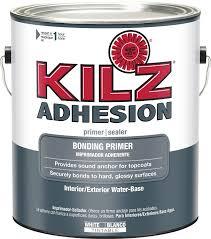 amazon com kilz adhesion high bonding interior latex primer