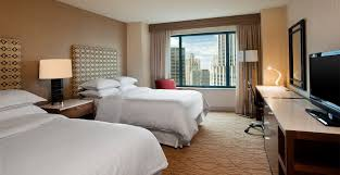 Hotel Room Interior - chicago hotels official site for sheraton grand chicago