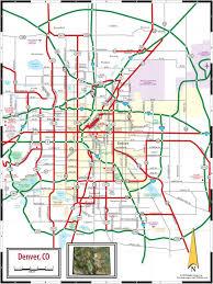 Denver Rtd Map Denver Co Map Map Denver Colorado Colorado Usa