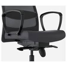 Black Swivel Chair Markus Swivel Chair Glose Black Ikea Design 28 Office Chair High