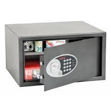 coffre fort de bureau coffre fort hôtel dione serrure électronique 33 l ss0302e