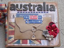 travel photo album brownpaperpackaging australia travel album