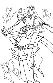 impressive sailor moon coloring pages nice col 3836 unknown