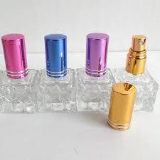 quels flacons de parfums eau 50 pcs lot flacon 10 ml coloré cap pompe de parfum en verre