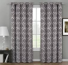 Jacquard Curtain Amazon Com Set Of 2 Panels 108