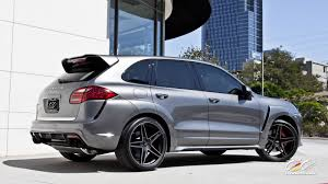 Porsche Cayenne With Rims - caractere exclusive cayenne turbo