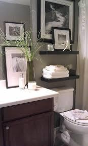 Cute Small Bathroom Ideas Colors Cute Small Bathroom Love The Shelving Above The Toilet
