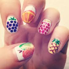 fruit nail art cute nails