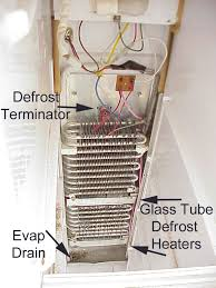 refrigerator defrost cycle diagnostics