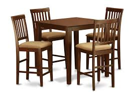 High Dining Room Sets Chair Counter Height Dining Table Set High Dining Table