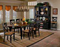 Black Dining Room Furniture by Black And Brown Dining Room Sets Home Interior Design