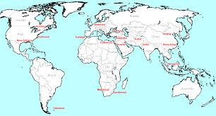australia world map location maps of battles involving