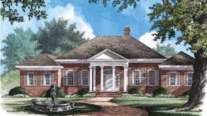 neoclassical home plans home plan homepw26693 3600 square foot 4 bedroom 3 bathroom