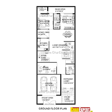50 square yard home design modern corner plot house plans plan for feet by size square yards