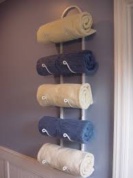 decorative towel racks decorating ideas