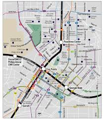 Marta Train Map Atlanta Marta Transit System Map Maplets