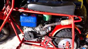 baja doodle bug mini bike 97cc 4 stroke engine manual doodlebug minibike 6 5hp upgrade