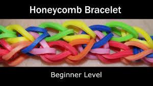 bracelet youtube images Rainbow loom honeycomb bracelet jpg