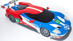lego ford set this is how you turn 40 000 legos into a ford gt