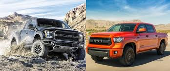ford raptor truck pictures ford f 150 svt raptor vs toyota tundra trd pro carstory