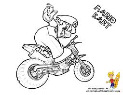coloring pages mario kart coloring home