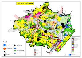 Map Phoenix Area by Spatial Planning