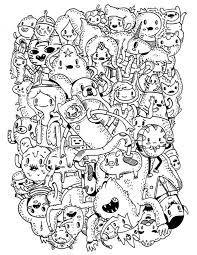 adventure coloring pages cartoon network adventure