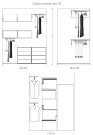 grandezza cabina armadio arredaclick cabina armadio piccola e stretta un progetto
