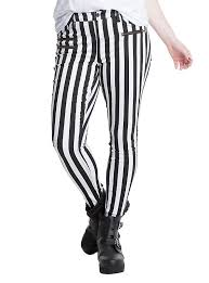 Plus Size Skeleton Leggings Blackheart Black U0026 White Striped Zippered Stingerette Jeans Plus